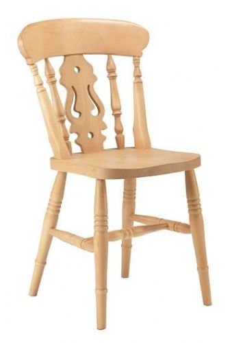Farmhouse Fiddle Back Side Chair
